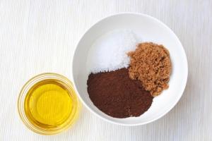 קפה, סוכר, מלח ושמן. פשוט וקל!
