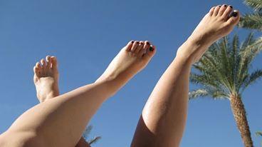 רגליים באויר הצח של אילת, מי מנחש מה הרגל שלי?
